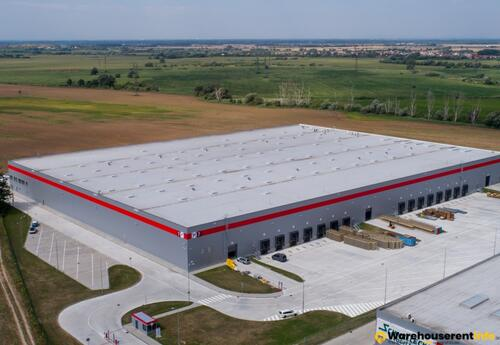 Warehouses to let in P3 Bratislava D2